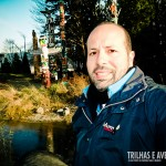 Curtindo o visual dos típicos totens canadenses