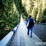 A ponte balança, mas não cai - Capilano Suspension Bridge