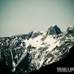 Olha o visual da subida até Grouse Mountain