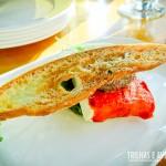 Queijo de Cabra com Tomate Seco e Torradas