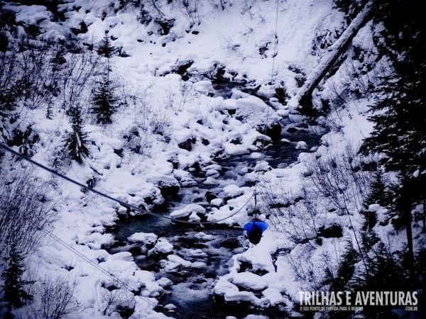 Adrenalina e emoção nas tirolesas de Whistler