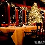 Ornamentação de Natal no The Chalet - Whistler
