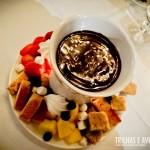 Fondue de Chocolate no The Chalet - Whistler