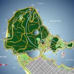 Mapa do Stanley Park