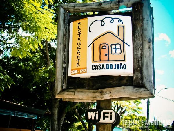 Wi-Fi Grátis no Restaurante Casa do João - Bonito MS