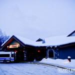 Fachada do Lodge principal do Lake Louise Inn