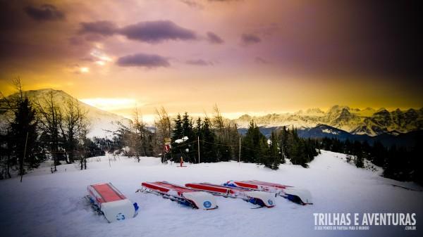Momentos como este aguardam por você nas montanhas de Banff