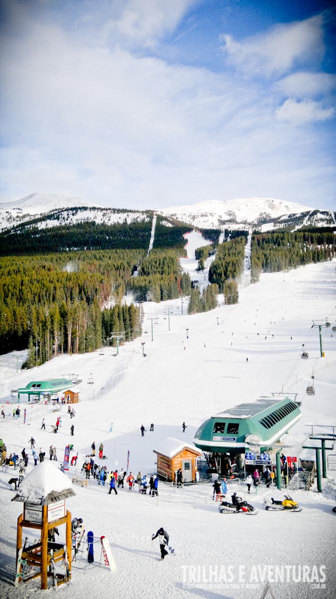 As estações de ski no Canadá são surpreendentes!