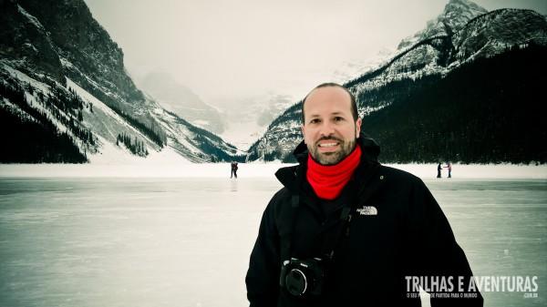 Pintura alguma é capaz de traduzir a beleza das cores reais de Lake Louise