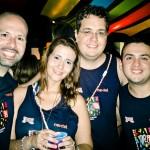 Os blogueiros do #CarnaGOL no Camarote Salvador