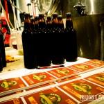 Garrafas e rótulos das cervejas artesanais