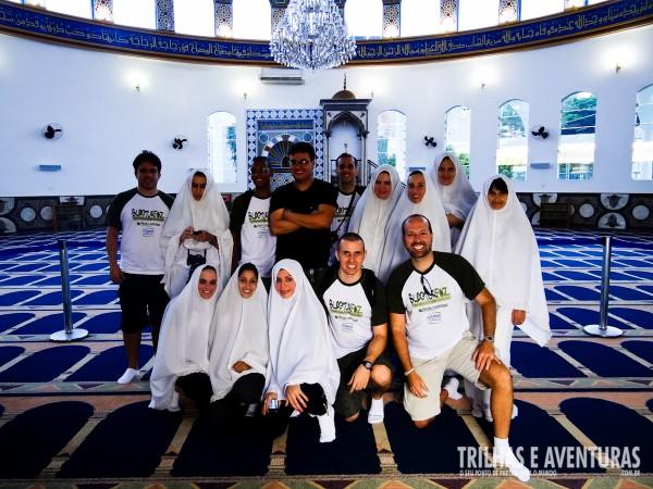 A Mesquita Árabe deixou a turma encantada