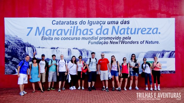 Turma do BlogTurFoz no Parque Nacional do Iguaçu
