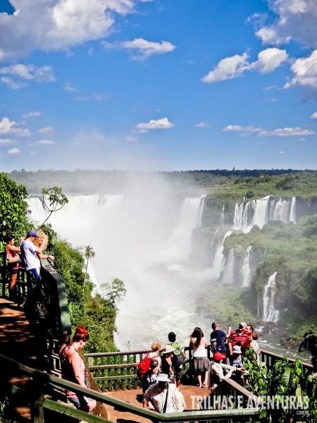 Trilha das Cataratas - Lado Brasil