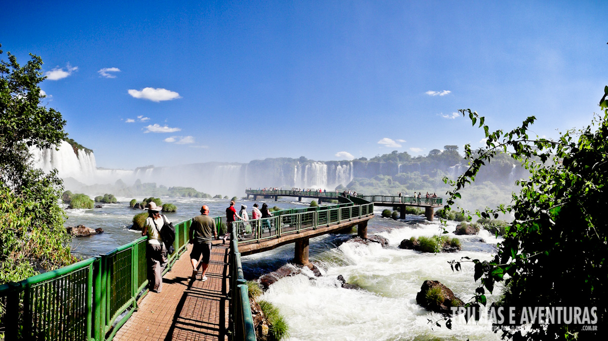 Visitando o Parque Nacional e as Cataratas do Iguaçu no Brasil