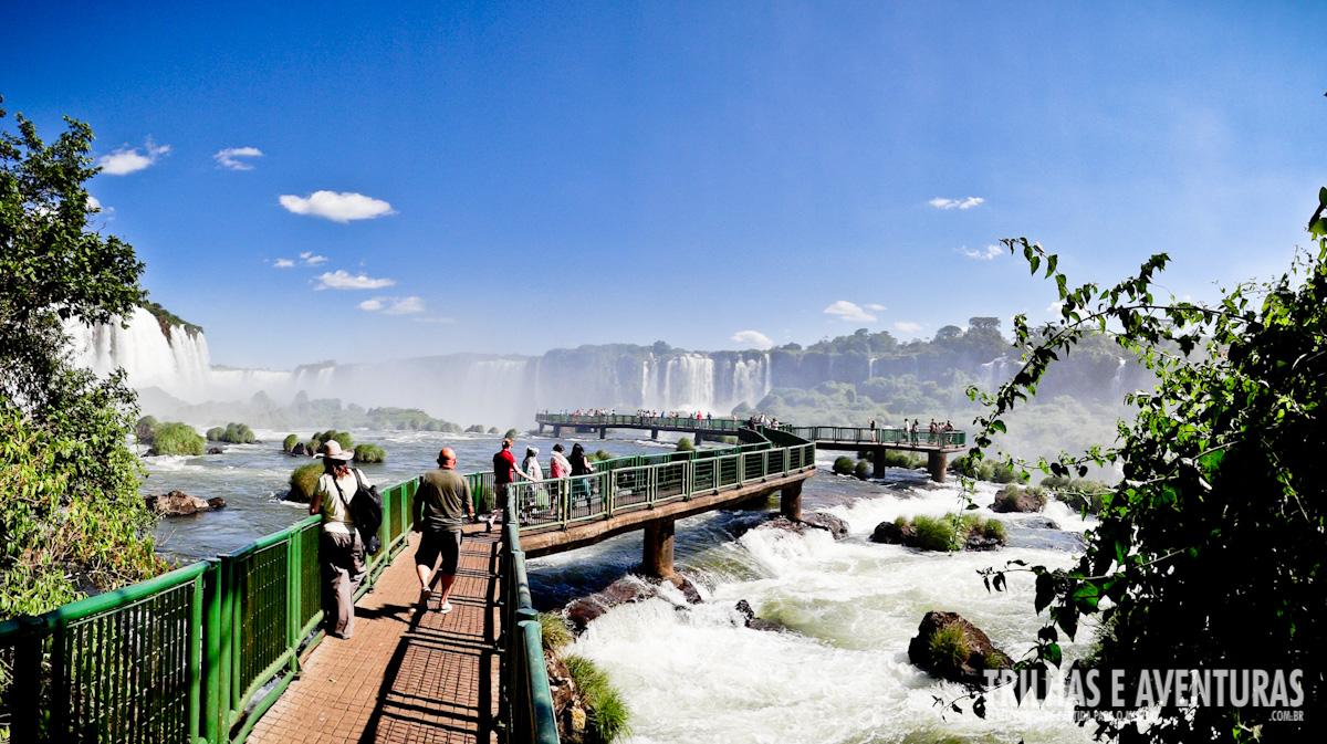 Visitando o Parque Nacional e as Cataratas do Iguaçu no Brasil