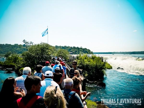 As Cataratas del Iguazú são procuradas por turistas do mundo todo