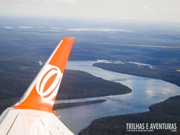 Chegando de GOL em Foz do Iguaçu