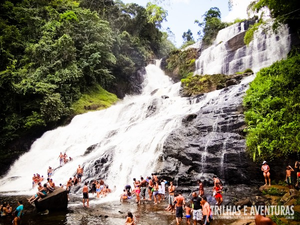 Cachoeira Pancada Grande, em Ituberá
