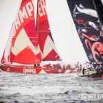 Barcos da Camper e Puma na Volvo Ocean Race em Itajaí
