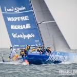 Barco da Telefónica na Volvo Ocean Race em Itajaí