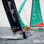 Barco de Abu Dhabi na Regata em Itajaí - Volvo Ocean Race