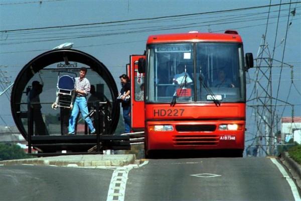 Para o restante dos brasileiros, o transporte público em Curitiba é exemplar. Você concorda?