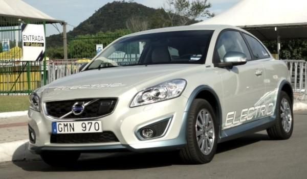 Volvo C30 Elétrico - Foto: Henrique Rodriguez