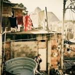 A favela se mistura com a zona sul