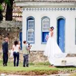 Paraty é perfeita para fotos de álbum de casamento
