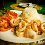 Super recomendo a Lula Grelhada do restaurante!