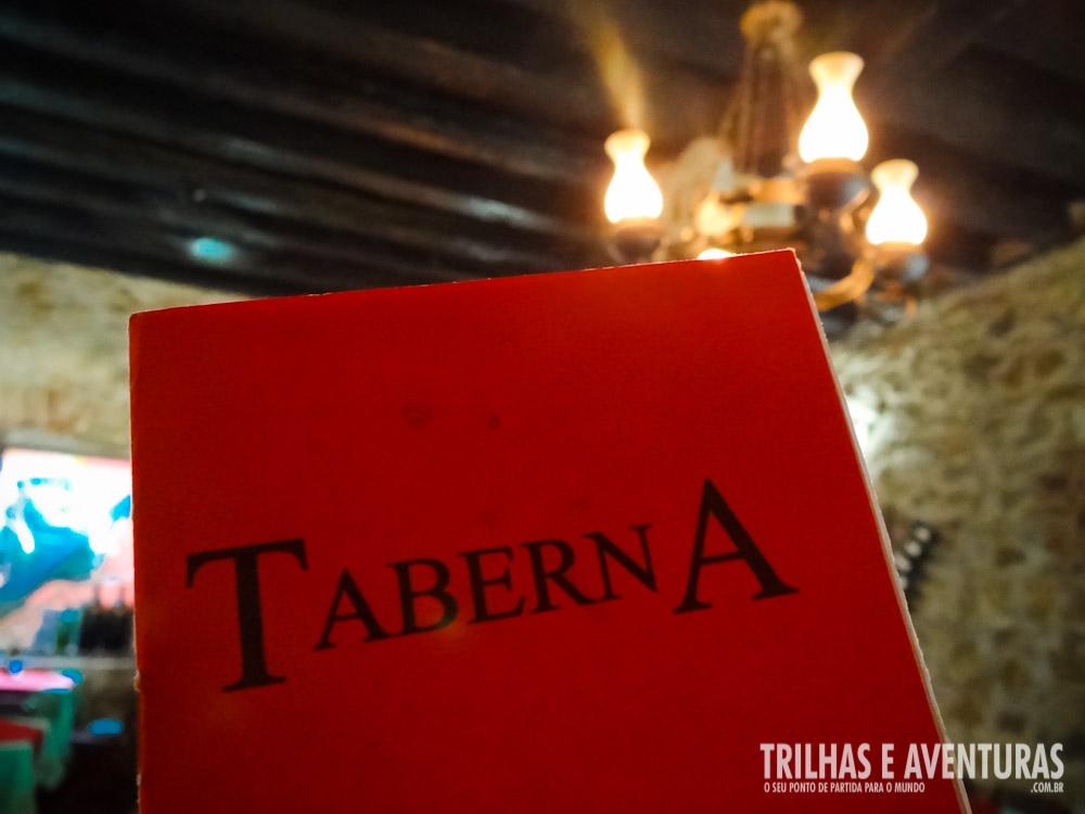 Restaurante Taberna - Opção barata e agradável em Paraty