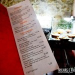 Cardápio variado no Restaurante Taberna