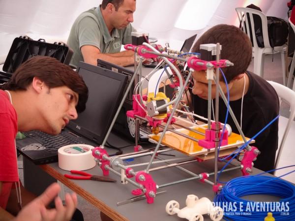 Impressão 3D da nova geração de empreendedores