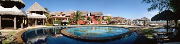Panorâmica do Hotel Long Beach Canoa Quebrada - Ceará