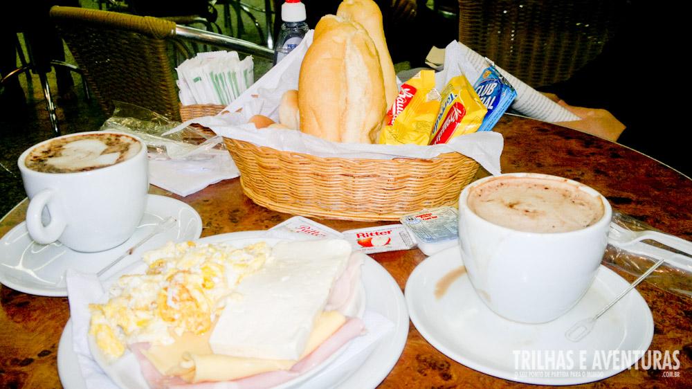 Bar Gate Zero, ótima opção de café da manhã no Aeroporto Internacional do Galeão