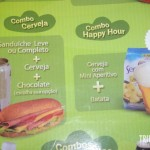 Combos voltados para a turma do happy-hour