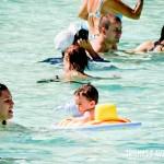 Os pequenos também curtem a Praia do Cerrado