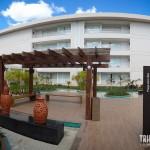 Panorâmica da Praça Som das Águas - Rio Quente Cristal Resort