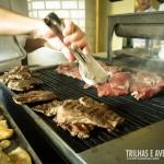 Grelhados de carne ou frango feitos na hora