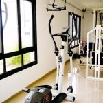 Fitness Center da cobertura