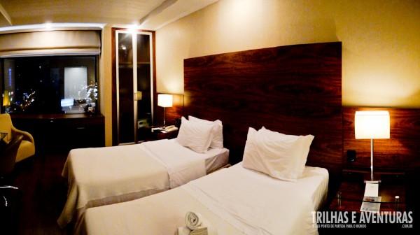 Panorâmica do quarto