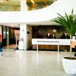 Recepção e lobby do Majestic Palace Hotel