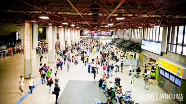 Aeroporto de Guarulhos, uma das principais portas de entradas no Brasil