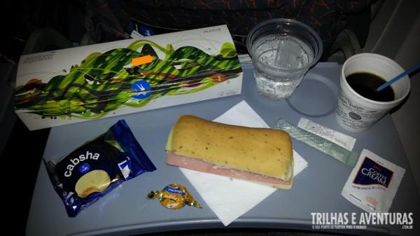 Lanche da Aerolineas Argentinas