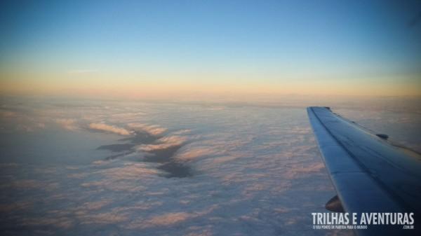 Voando com a Andes Líneas Aéreas por cima da Cordilheira dos Andes