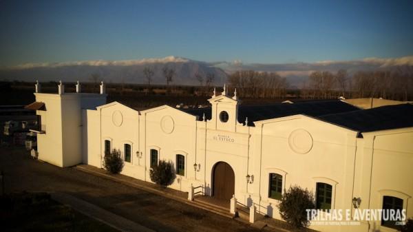 Bodega El Esteco, que fica no luxuoso Hotel & Wine Spa Patios de Cafayate