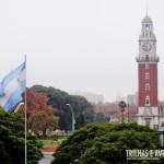 Torres dos Ingleses (na Praça das Forças Aéreas Argentinas) - Buenos Aires