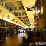 Belíssima arquitetura da Estação Retiro do Ferrocarril Bartolomé Mitre