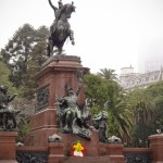 Monumento na Plaza General San Martin - Buenos Aires